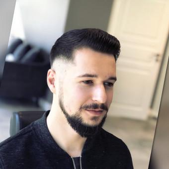 Vyriški kirpimai,barzdų modeliavimas,skutimas. / Loreta / Darbų pavyzdys ID 698379