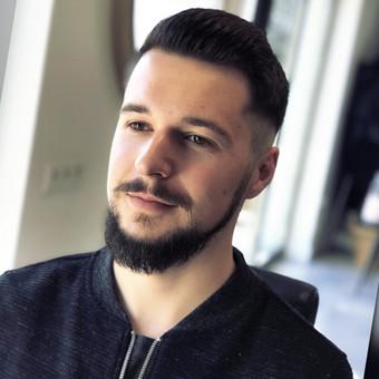 Vyriški kirpimai,barzdų modeliavimas,skutimas. / Loreta / Darbų pavyzdys ID 698381
