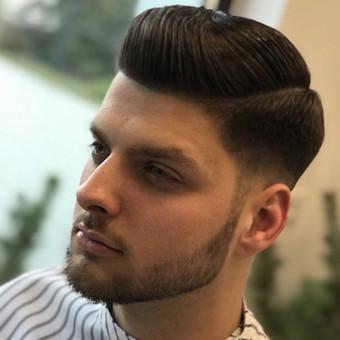 Vyriški kirpimai,barzdų modeliavimas,skutimas. / Loreta / Darbų pavyzdys ID 698385