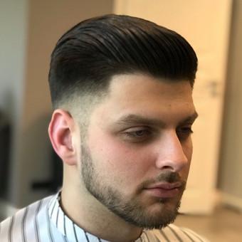 Vyriški kirpimai,barzdų modeliavimas,skutimas. / Loreta / Darbų pavyzdys ID 698387