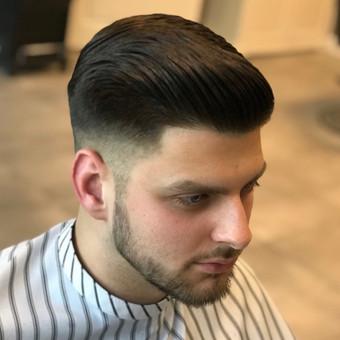 Vyriški kirpimai,barzdų modeliavimas,skutimas. / Loreta / Darbų pavyzdys ID 698389
