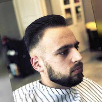 Vyriški kirpimai,barzdų modeliavimas,skutimas. / Loreta / Darbų pavyzdys ID 698393