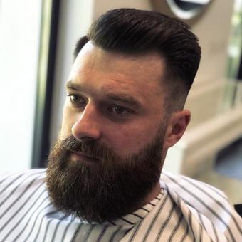 Vyriški kirpimai,barzdų modeliavimas,skutimas. / Loreta / Darbų pavyzdys ID 698397