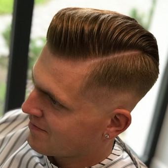 Vyriški kirpimai,barzdų modeliavimas,skutimas. / Loreta / Darbų pavyzdys ID 698403