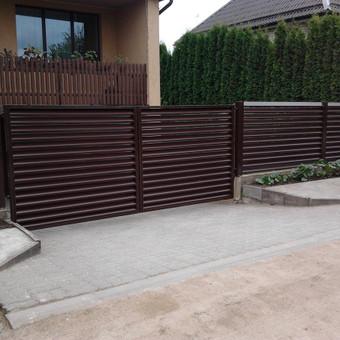 Tvoros, kiemo vartai, montavimas, kalvystės elementai. / UAB Metalo spektras / Darbų pavyzdys ID 700221