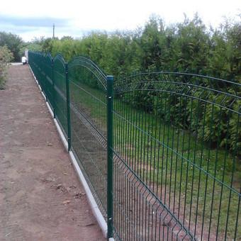Tvoros, kiemo vartai, montavimas, kalvystės elementai. / UAB Metalo spektras / Darbų pavyzdys ID 700231
