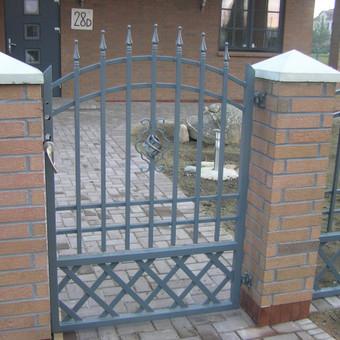 Tvoros, kiemo vartai, montavimas, kalvystės elementai. / UAB Metalo spektras / Darbų pavyzdys ID 700237