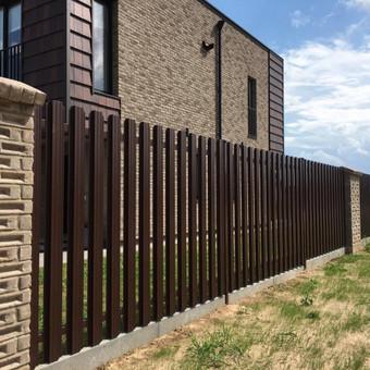 """Visų tipų tvoros ir vartai. Projektavimas, gamyba-montavimas / UAB """"Tvoras"""" / Darbų pavyzdys ID 700335"""