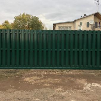 """Visų tipų tvoros ir vartai. Projektavimas, gamyba-montavimas / UAB """"Tvoras"""" / Darbų pavyzdys ID 700337"""