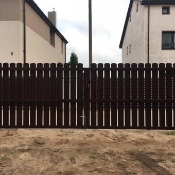 """Visų tipų tvoros ir vartai. Projektavimas, gamyba-montavimas / UAB """"Tvoras"""" / Darbų pavyzdys ID 700339"""