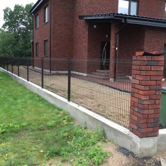 """Visų tipų tvoros ir vartai. Projektavimas, gamyba-montavimas / UAB """"Tvoras"""" / Darbų pavyzdys ID 700345"""