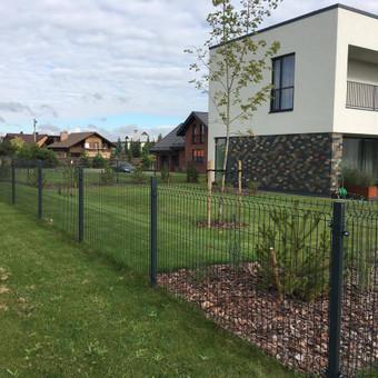 """Visų tipų tvoros ir vartai. Projektavimas, gamyba-montavimas / UAB """"Tvoras"""" / Darbų pavyzdys ID 700347"""