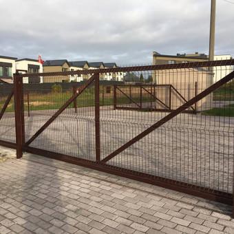 """Visų tipų tvoros ir vartai. Projektavimas, gamyba-montavimas / UAB """"Tvoras"""" / Darbų pavyzdys ID 700349"""