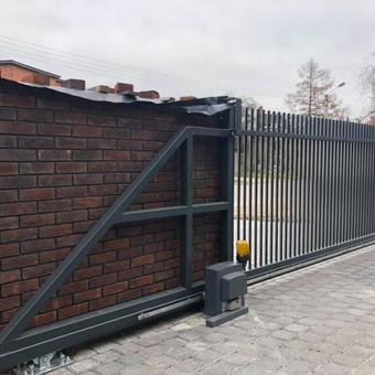"""Visų tipų tvoros ir vartai. Projektavimas, gamyba-montavimas / UAB """"Tvoras"""" / Darbų pavyzdys ID 700355"""
