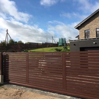 """Visų tipų tvoros ir vartai. Projektavimas, gamyba-montavimas / UAB """"Tvoras"""" / Darbų pavyzdys ID 700357"""
