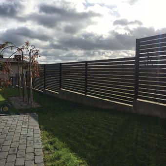 """Visų tipų tvoros ir vartai. Projektavimas, gamyba-montavimas / UAB """"Tvoras"""" / Darbų pavyzdys ID 700359"""
