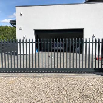 """Visų tipų tvoros ir vartai. Projektavimas, gamyba-montavimas / UAB """"Tvoras"""" / Darbų pavyzdys ID 700361"""