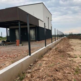 """Visų tipų tvoros ir vartai. Projektavimas, gamyba-montavimas / UAB """"Tvoras"""" / Darbų pavyzdys ID 700365"""