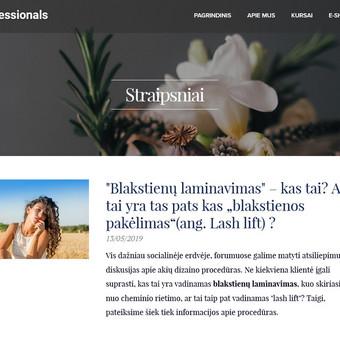 SEO SEM WEB kūrimas E-Shop kūrimas Facebook administravimas / SEO Squirrel / Darbų pavyzdys ID 700839