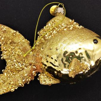Auksinė žuvelė iš stiklo
