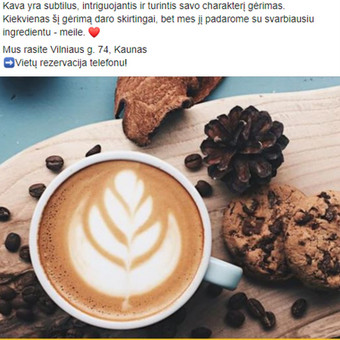 Facebook ir Instagram komunikacija, reklama. / Advertsup / Darbų pavyzdys ID 704865