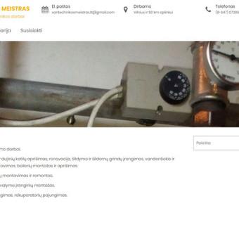 Internetinių svetainių kūrimas, priežiūra, virusų valymas / Edvardas / Darbų pavyzdys ID 706601