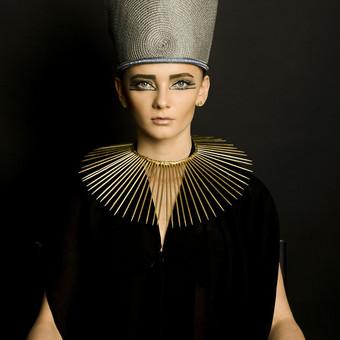 Makiažas skirtas Egiptietiškai fotosesijai
