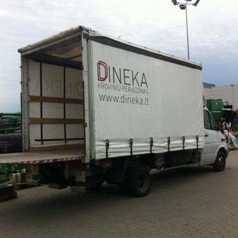 Krovinių pervežimas / Dainius / Darbų pavyzdys ID 90688