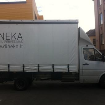 Krovinių pervežimas / Dainius / Darbų pavyzdys ID 90687