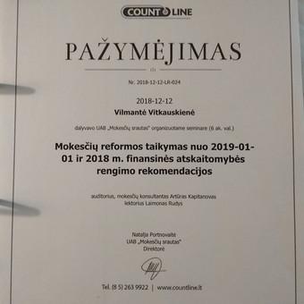 Buhalterinė apskaita įmonėms ir ūkininkams / UAB Vilnervita / Darbų pavyzdys ID 708997