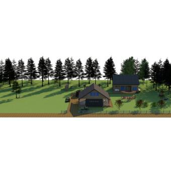 Aplinkos apželdinimo projektavimas / Rolanda / Darbų pavyzdys ID 709213