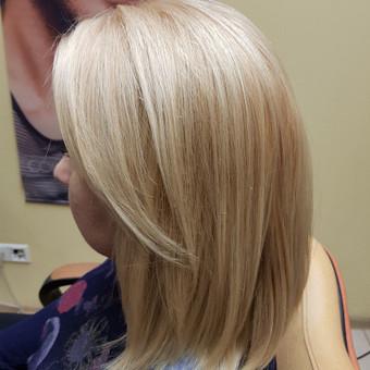 Modeliniai kirpimai, plaukų dažymas, ilgal.plaukų tiesinimas / Grožio Salonas/Kirpykla / Darbų pavyzdys ID 689263