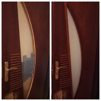 Durų stiklo keitimo darbai