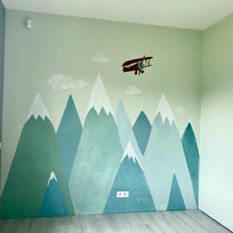 Piešiniai ant sienų/sienų tapyba / Laura Jakutiene / Darbų pavyzdys ID 712075