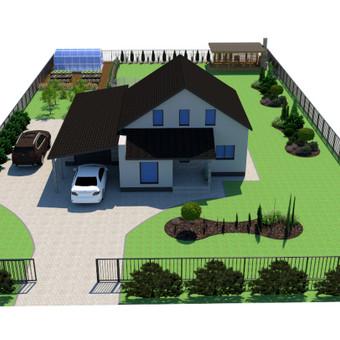 Aplinkos apželdinimo projektavimas / Rolanda / Darbų pavyzdys ID 713541
