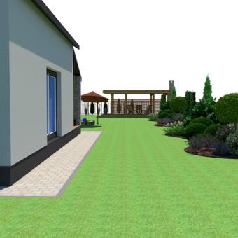 Aplinkos apželdinimo projektavimas / Rolanda / Darbų pavyzdys ID 713543