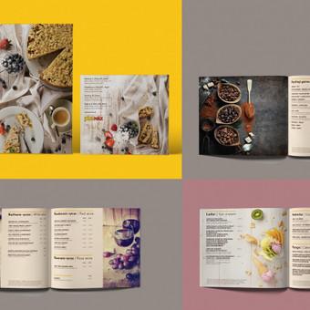 Desertų ir gėrimų meniu / Desserts and drinks menu | PICA MAX Peržiūrėti čia / Review here  http://issuu.com/salvitadesign/docs/gerimu_meniu_web… Idea, food styling, design - Salvita, phot ...