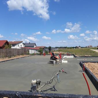Plokštuminių pamatai, pagrindo paruošimas, betonavimas / MB Šilti pamatai / Darbų pavyzdys ID 715287