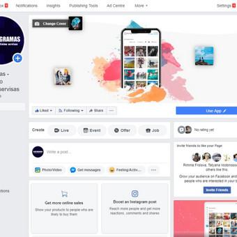 Svetainių kūrimas Facebook, Instagram reklama, SEO, Google / Promoguy Lietuva / Darbų pavyzdys ID 716123