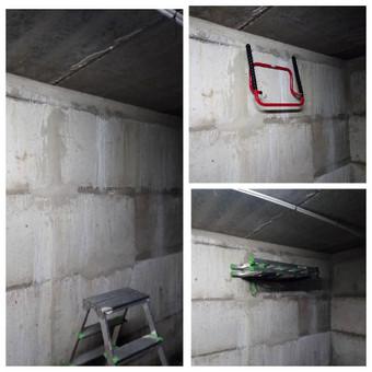 Dviračių laikiklio montavimas garaže, kad atsilaisvintų balkonas