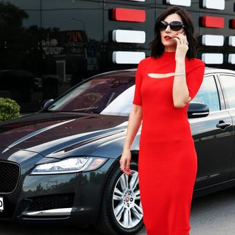 Vienos valandos kaina įskaitant automobilį, vairuotoją bei kurą. https://donauto.lt/automobiliu-nuoma-siauliuose/jaguar-xf-2016m-nuoma