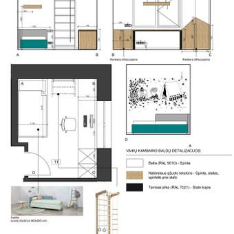 Interjero dizaino projektai / Gintarė Stonkienė / Darbų pavyzdys ID 720181