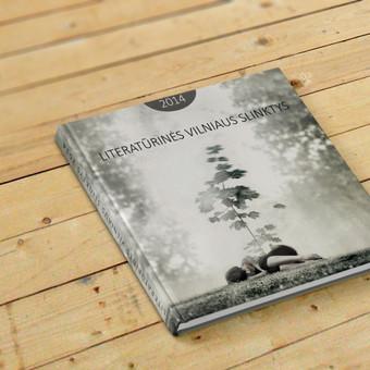 Knygos viršelio iliustracijos sukūrimas ir dizaino maketavimas.