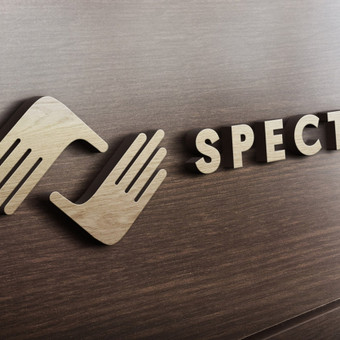 """Specto"" logotipo dizaino kūrimas."