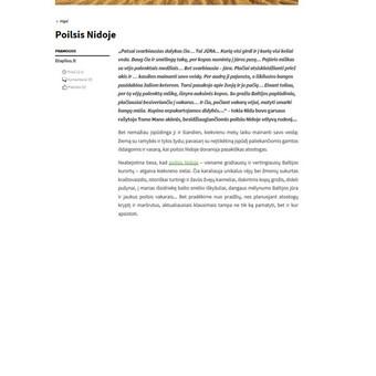 Tekstų kūrėja, redaktorė, rašto darbų konsultantė / Inesa / Darbų pavyzdys ID 721823