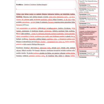 Tekstų kūrėja, redaktorė, rašto darbų konsultantė / Inesa / Darbų pavyzdys ID 721831