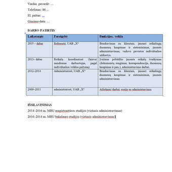 Tekstų kūrėja, redaktorė, rašto darbų konsultantė / Inesa / Darbų pavyzdys ID 721897
