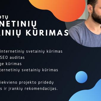 Optimizuotų Internetinių Svetainių Kūrimas (EN + LT) / Vytas / Darbų pavyzdys ID 722381