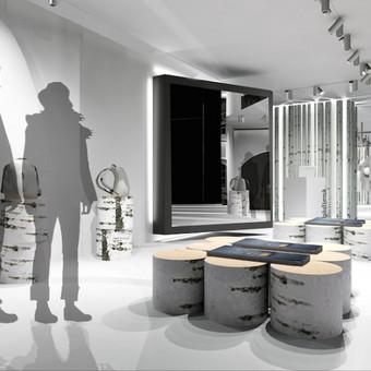 Konkursinis projektas lietuviško prekinio ženklo parduotuvės kūrimas.