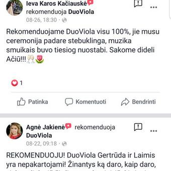 DuoViola duetas / Laimis Krunglevičius / Darbų pavyzdys ID 725579